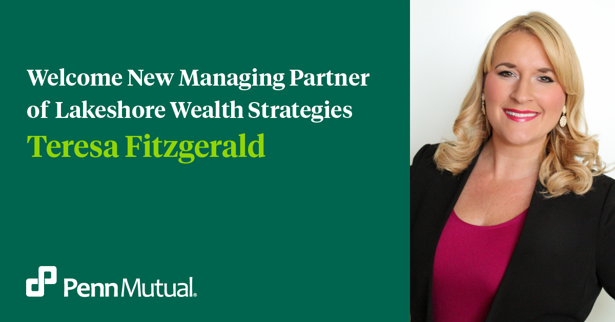 Teresa M. Fitzgerald Managing Partner of Lakeshore Wealth Strategies